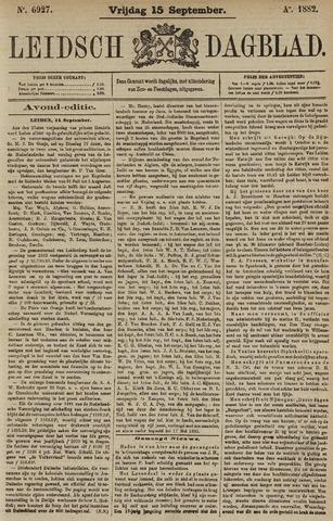 Leidsch Dagblad 1882-09-15