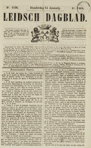 Leidsch Dagblad 1864-01-14