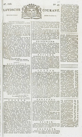 Leydse Courant 1828-04-16
