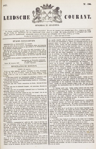 Leydse Courant 1877-08-21