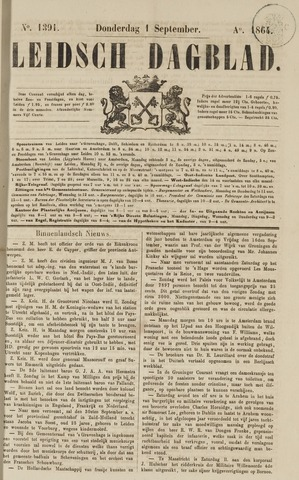 Leidsch Dagblad 1864-09-01