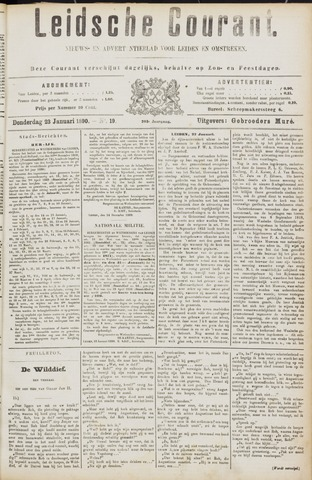 Leydse Courant 1890-01-23
