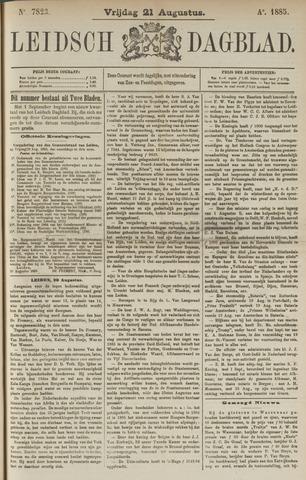 Leidsch Dagblad 1885-08-21