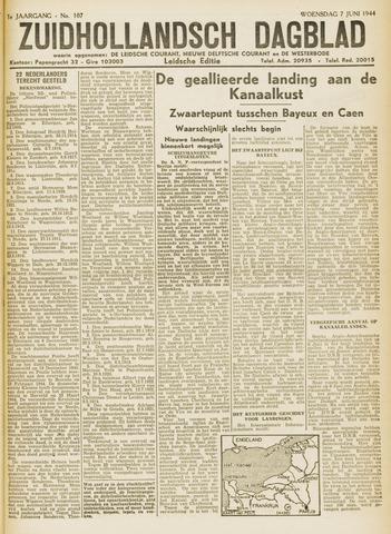 Zuidhollandsch Dagblad 1944-06-07