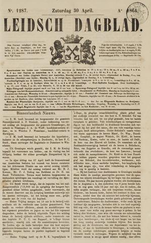 Leidsch Dagblad 1864-04-30