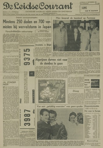Leidse Courant 1958-09-27