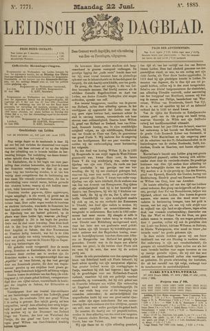 Leidsch Dagblad 1885-06-22