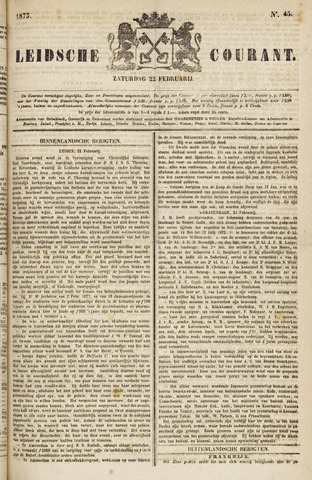 Leydse Courant 1873-02-22