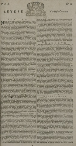 Leydse Courant 1739-02-20