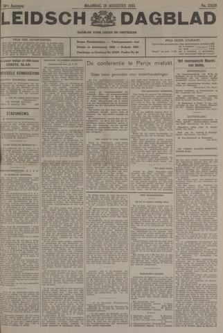 Leidsch Dagblad 1935-08-19