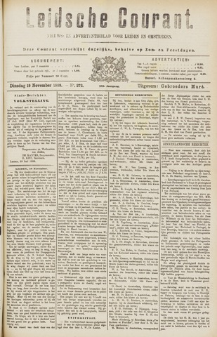 Leydse Courant 1889-11-19