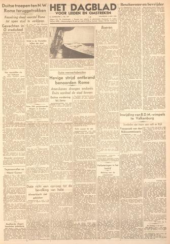Dagblad voor Leiden en Omstreken 1944-06-05
