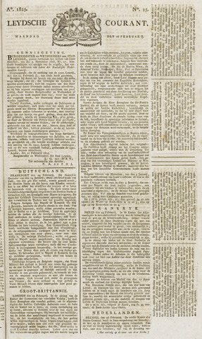 Leydse Courant 1825-02-28