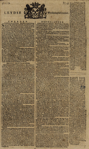 Leydse Courant 1779-03-03