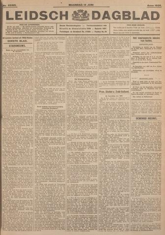 Leidsch Dagblad 1926-06-14