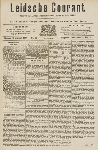 Leydse Courant 1887-01-18