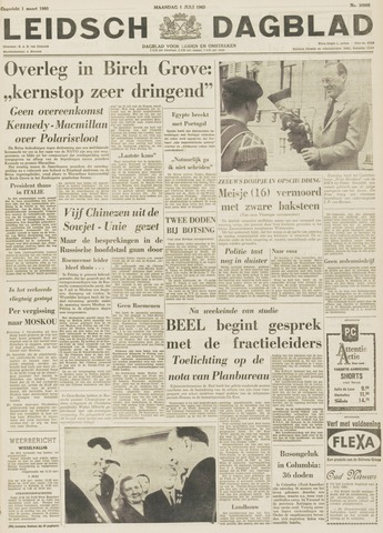 Leidsch Dagblad 1963-07-01
