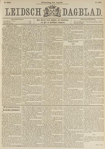 Leidsch Dagblad 1894-04-24