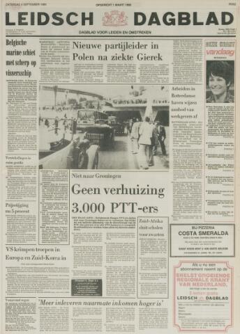 Leidsch Dagblad 1980-09-06