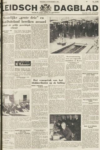 Leidsch Dagblad 1951-11-23