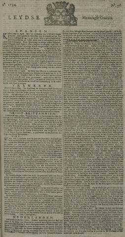 Leydse Courant 1734-05-10
