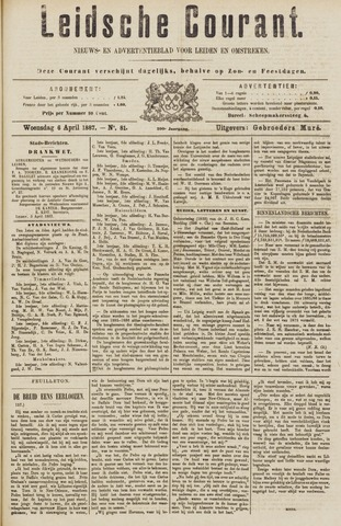 Leydse Courant 1887-04-06