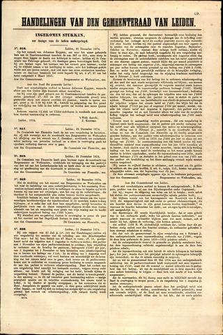 Handelingen van de Raad 1874-12-21
