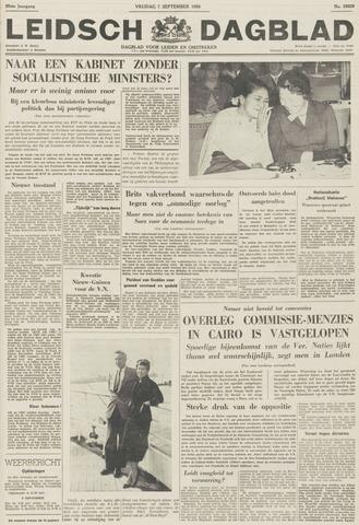 Leidsch Dagblad 1956-09-07