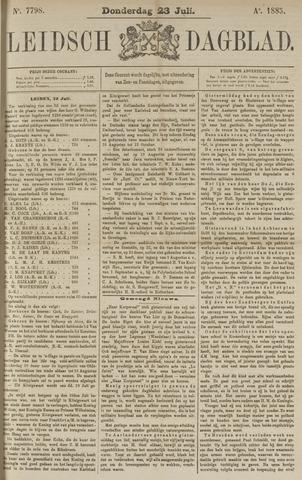 Leidsch Dagblad 1885-07-23