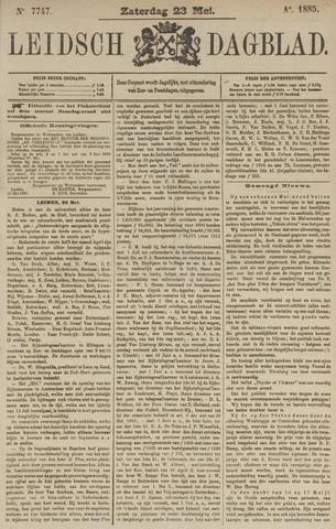 Leidsch Dagblad 1885-05-23
