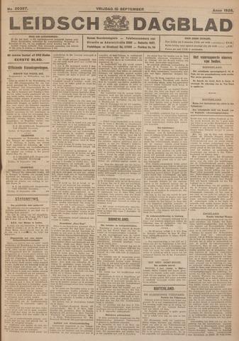 Leidsch Dagblad 1926-09-10