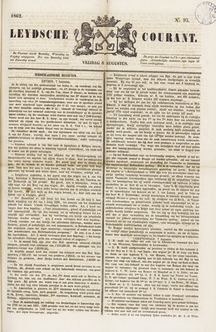 Leydse Courant 1862-08-08