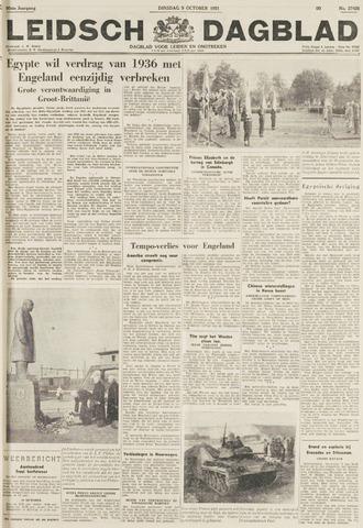 Leidsch Dagblad 1951-10-09