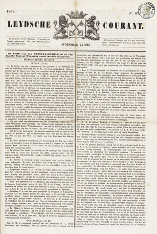 Leydse Courant 1865-05-24