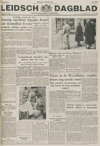 Leidsch Dagblad 1955-03-01