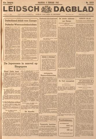 Leidsch Dagblad 1942-02-09