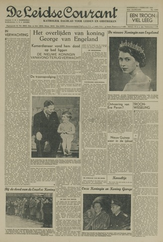 Leidse Courant 1952-02-07
