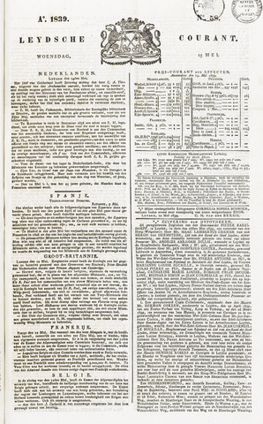 Leydse Courant 1839-05-15