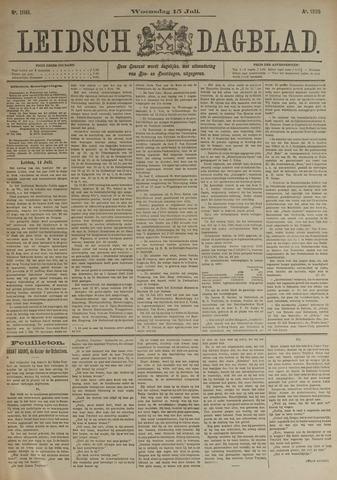 Leidsch Dagblad 1896-07-15