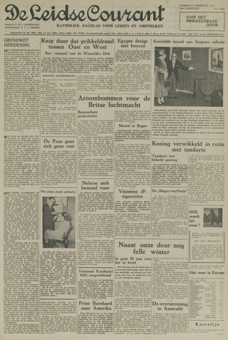 Leidse Courant 1954-02-23