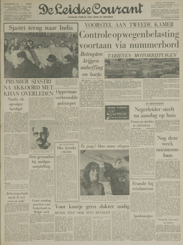 Leidse Courant 1966-01-11