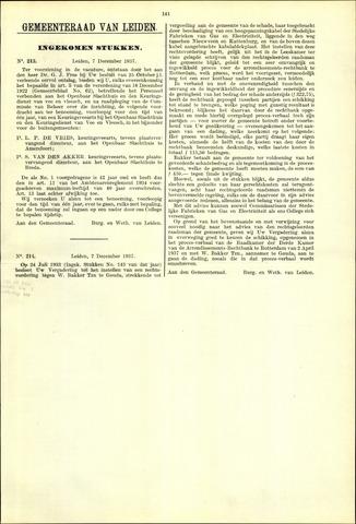 Handelingen van de Raad 1937-12-07