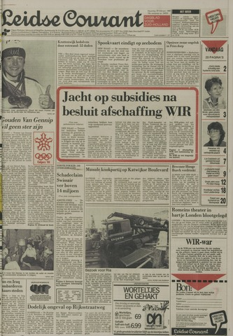 Leidse Courant 1988-02-29