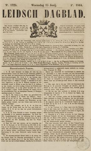 Leidsch Dagblad 1864-06-15
