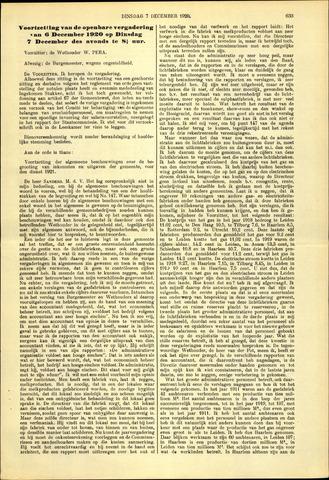 Handelingen van de Raad 1920-12-07