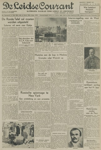 Leidse Courant 1949-03-07