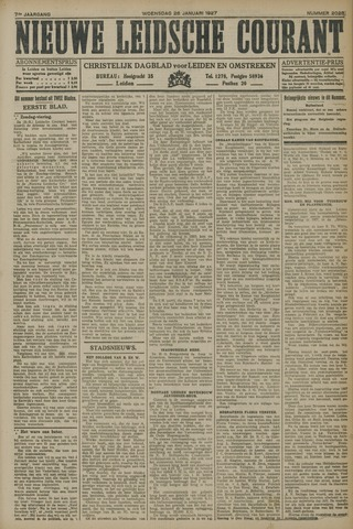 Nieuwe Leidsche Courant 1927-01-26