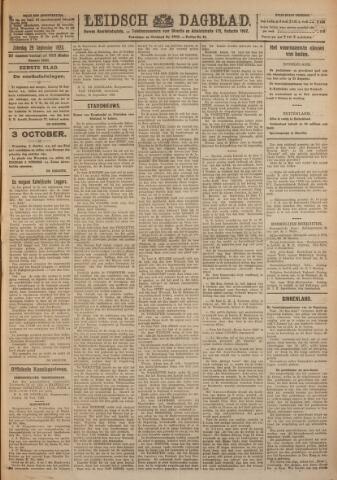 Leidsch Dagblad 1923-09-29