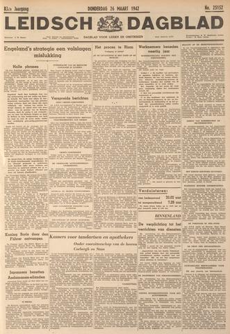 Leidsch Dagblad 1942-03-26