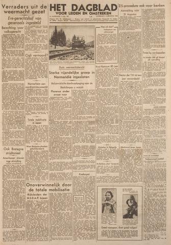 Dagblad voor Leiden en Omstreken 1944-08-05